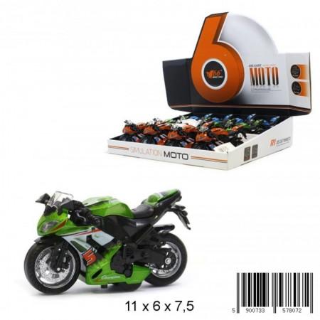 Motor wyścigowy metal.