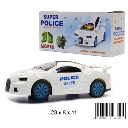 Auto policja diody